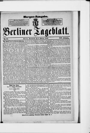 Berliner Tageblatt und Handels-Zeitung vom 03.02.1883