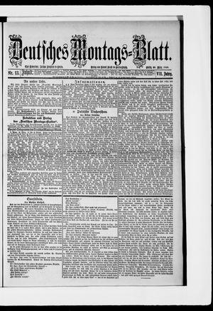 Berliner Tageblatt und Handels-Zeitung vom 26.03.1883