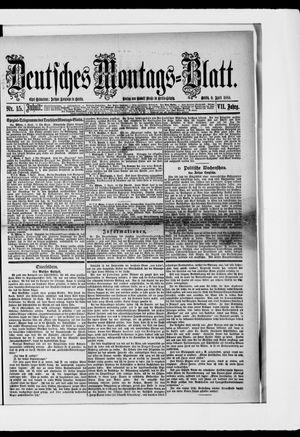 Berliner Tageblatt und Handels-Zeitung vom 09.04.1883