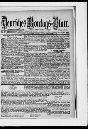 Berliner Tageblatt und Handels-Zeitung vom 23.04.1883