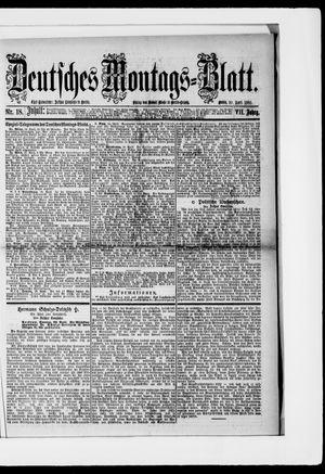 Berliner Tageblatt und Handels-Zeitung vom 30.04.1883