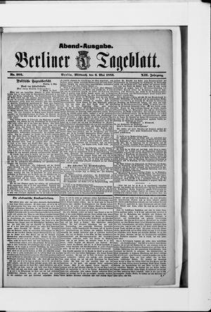 Berliner Tageblatt und Handels-Zeitung on May 2, 1883