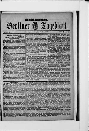 Berliner Tageblatt und Handels-Zeitung vom 05.05.1883