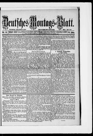 Berliner Tageblatt und Handels-Zeitung vom 07.05.1883