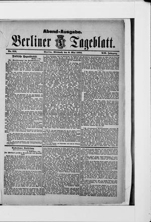 Berliner Tageblatt und Handels-Zeitung vom 09.05.1883
