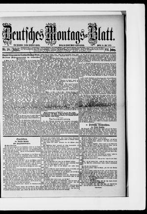 Berliner Tageblatt und Handels-Zeitung vom 14.05.1883