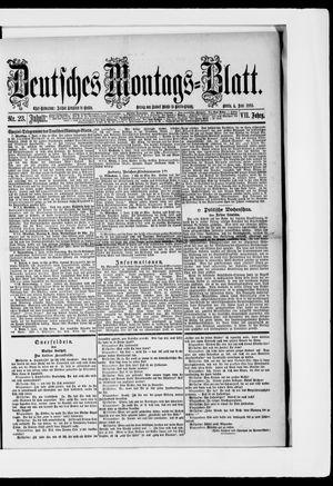 Berliner Tageblatt und Handels-Zeitung on Jun 4, 1883