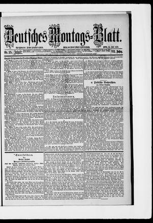 Berliner Tageblatt und Handels-Zeitung vom 18.06.1883