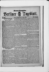 Berliner Tageblatt und Handels-Zeitung (19.06.1883)