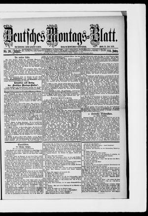 Berliner Tageblatt und Handels-Zeitung vom 25.06.1883