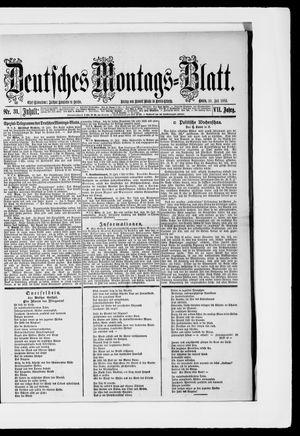Berliner Tageblatt und Handels-Zeitung vom 30.07.1883