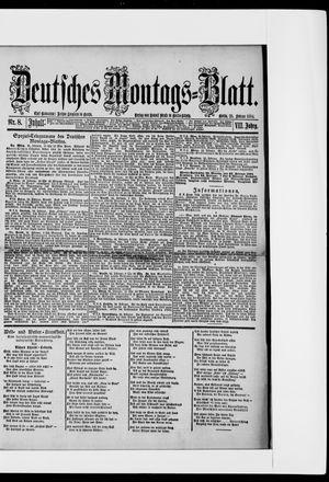 Berliner Tageblatt und Handels-Zeitung vom 25.02.1884