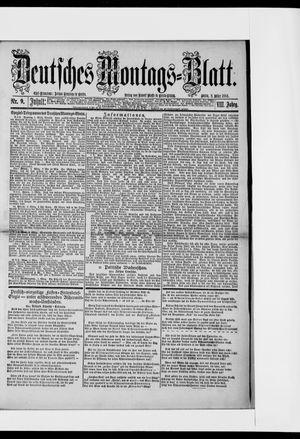 Berliner Tageblatt und Handels-Zeitung vom 03.03.1884