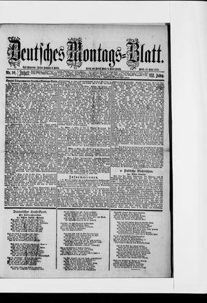 Berliner Tageblatt und Handels-Zeitung vom 10.03.1884