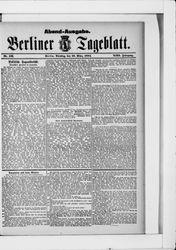 Berliner Tageblatt und Handels-Zeitung (18.03.1884)