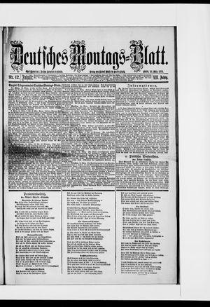 Berliner Tageblatt und Handels-Zeitung vom 24.03.1884