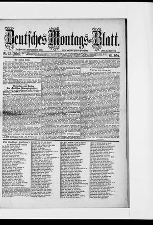 Berliner Tageblatt und Handels-Zeitung vom 31.03.1884
