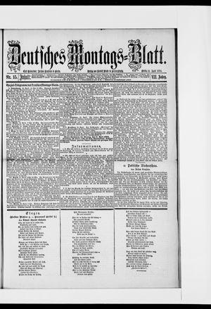 Berliner Tageblatt und Handels-Zeitung vom 14.04.1884