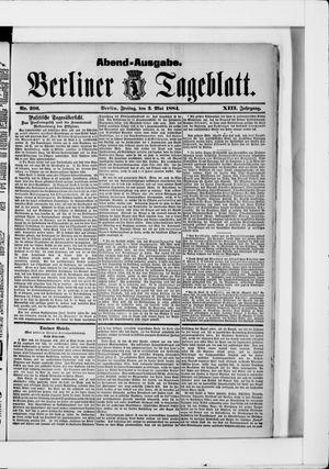 Berliner Tageblatt und Handels-Zeitung vom 02.05.1884