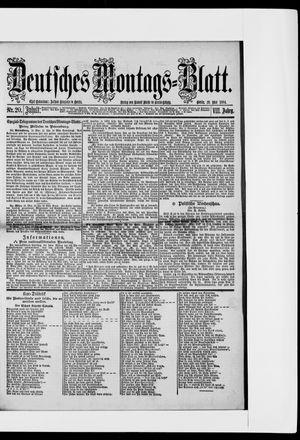 Berliner Tageblatt und Handels-Zeitung vom 19.05.1884