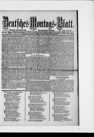 Berliner Tageblatt und Handels-Zeitung vom 02.06.1884