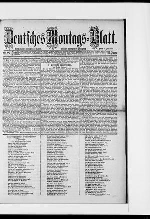 Berliner Tageblatt und Handels-Zeitung vom 07.07.1884