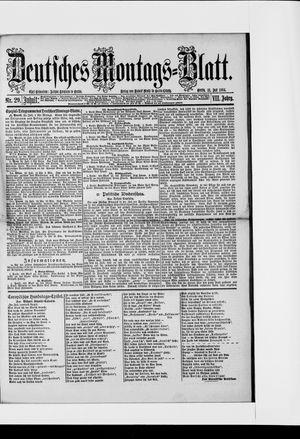 Berliner Tageblatt und Handels-Zeitung vom 21.07.1884