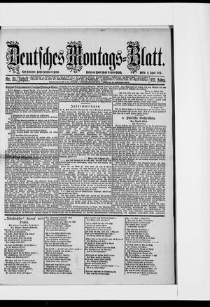 Berliner Tageblatt und Handels-Zeitung vom 04.08.1884