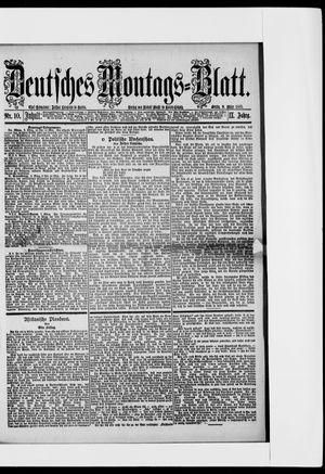 Berliner Tageblatt und Handels-Zeitung vom 09.03.1885