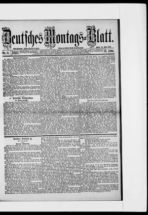 Berliner Tageblatt und Handels-Zeitung vom 16.03.1885