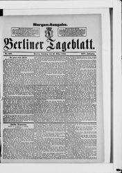 Berliner Tageblatt und Handels-Zeitung (17.03.1885)