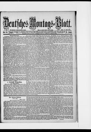 Berliner Tageblatt und Handels-Zeitung vom 13.04.1885