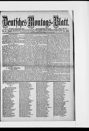 Berliner Tageblatt und Handels-Zeitung vom 11.05.1885