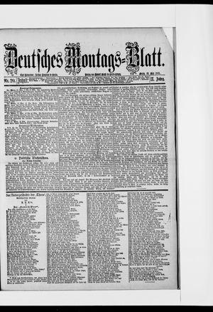 Berliner Tageblatt und Handels-Zeitung vom 18.05.1885