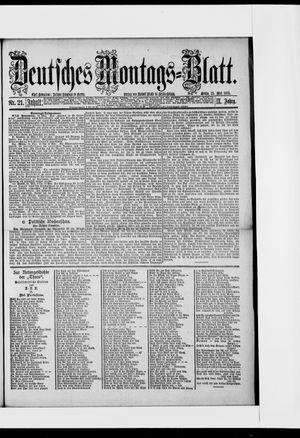 Berliner Tageblatt und Handels-Zeitung vom 25.05.1885