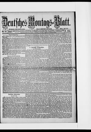 Berliner Tageblatt und Handels-Zeitung vom 08.06.1885