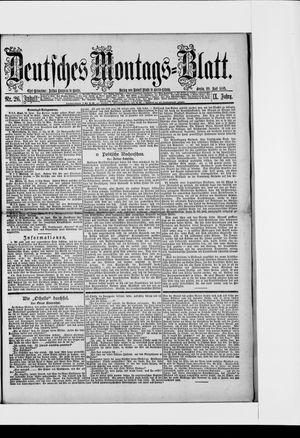 Berliner Tageblatt und Handels-Zeitung vom 29.06.1885