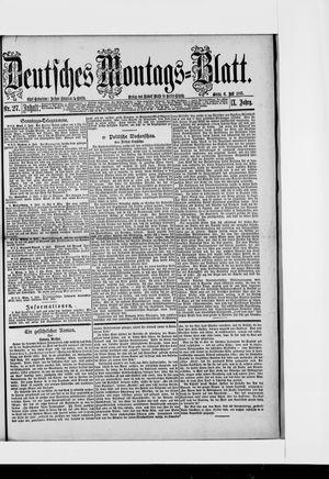 Berliner Tageblatt und Handels-Zeitung vom 06.07.1885