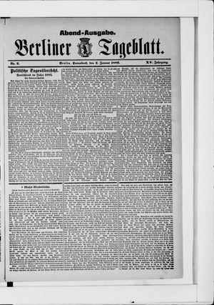 Berliner Tageblatt und Handels-Zeitung vom 02.01.1886