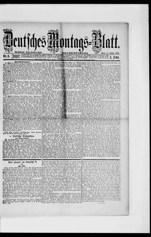 Berliner Tageblatt und Handels-Zeitung vom 22.02.1886