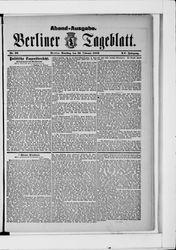 Berliner Tageblatt und Handels-Zeitung (23.02.1886)