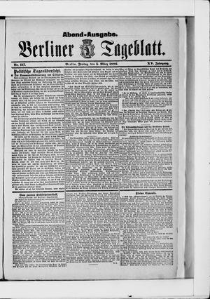 Berliner Tageblatt und Handels-Zeitung vom 05.03.1886