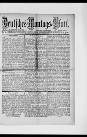 Berliner Tageblatt und Handels-Zeitung vom 05.04.1886