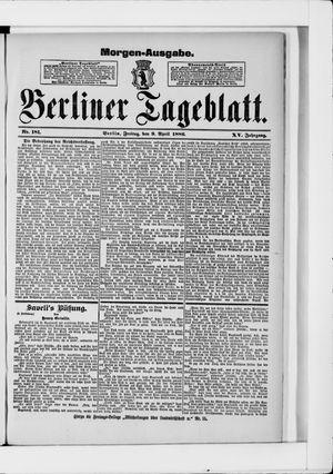 Berliner Tageblatt und Handels-Zeitung vom 09.04.1886