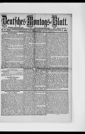Berliner Tageblatt und Handels-Zeitung vom 19.04.1886