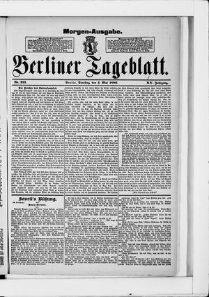 Berliner Tageblatt und Handels-Zeitung vom 04.05.1886