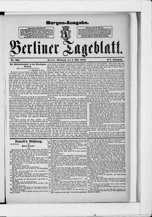 Berliner Tageblatt und Handels-Zeitung vom 05.05.1886