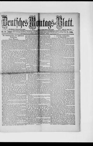 Berliner Tageblatt und Handels-Zeitung vom 24.05.1886