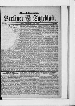 Berliner Tageblatt und Handels-Zeitung vom 02.07.1886