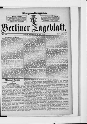 Berliner Tageblatt und Handels-Zeitung vom 06.07.1886